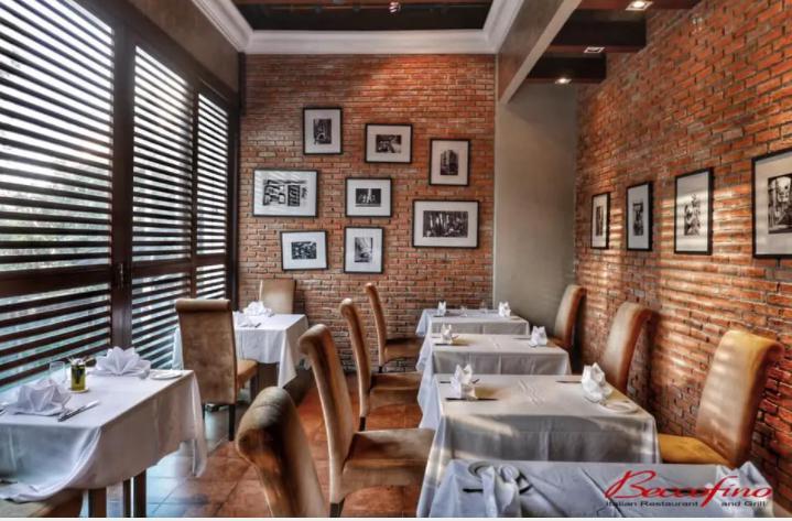 ร้านอาหารอิตาเลียน พร้อมเสิร์ฟพิซซ่า