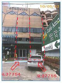 อาคารพาณิชย์หลุดจำนอง ธ.ธนาคารกรุงไทย บางบำหรุ บางพลัด กรุงเทพมหานคร