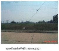 ที่ดินเปล่าหลุดจำนอง ธ.ธนาคารกรุงไทย ตำบลท้ายเกาะ อำเภอสามโคก ปทุมธานี