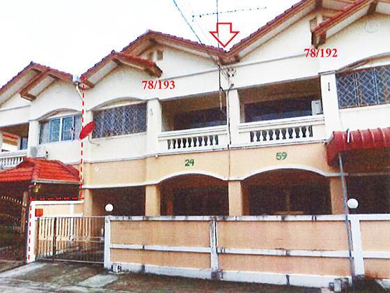 78/192, 78/193 ซอยเพชรเกษม 106 หมู่บ้านเพชรทวีสุข ซอย1 แยก 1 ถนนเพชรเกษม หนองค้างพลู หนองแขม กรุงเทพมหานคร