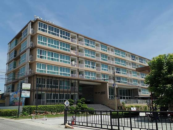 ห้องชุดเลขที่ 6/22 ชั้น 1 อาคารเลขที่ 1 อาคารชุดเดอะลอฟ บีช บางแสน แสนสุข เมืองชลบุรี ชลบุรี