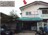 บ้านแฝดหลุดจำนอง ธ.ธนาคารอาคารสงเคราะห์ สวนหลวง กระทุ่มแบน สมุทรสาคร