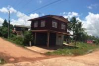 บ้านครึ่งตึกครึ่งไม้หลุดจำนอง ธ.ธนาคารไทยพาณิชย์ พระธาตุบังพวน เมืองหนองคาย หนองคาย