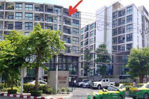 เลขที่ 8/143 โครงการแกรนด์ คอนโด อาคารบี (เนื้อที่ 27.31 ตรม. ชั้น 7) ถนนวุฒากาศบางค้อ เขตจอมทอง กรุงเทพมหานคร