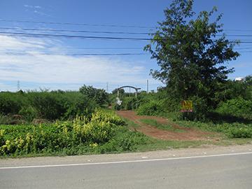 โครงการแสนพัฒนา ถนนมาลัยแมน สระสี่มุม กำแพงแสน จังหวัดนครปฐม