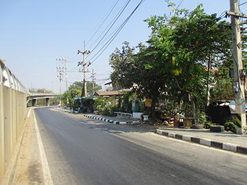 ถนนแสงชูโต หนองอ้อ บ้านโป่ง จังหวัดราชบุรี