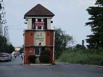 โครงการหมู่บ้าน เค.ซี.คลัสเตอร์ รามอินทรา บ้านเลขที่ 38/975 ถนนเข้าถนนไทยรามัญ (ซ.ถนนรวยยศศักดิ์) สามวาตะวันตก เขตคลองสามวา(มีนบุรี) กรุงเทพมหานคร