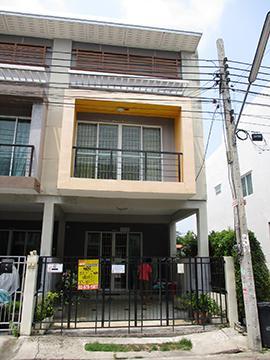 หมู่บ้านอาร์เค พาร์ค 406 (รามอินทรา-คู้บอน) บ้านเลขที่ 406/186 ถนนเลียบคลองสอง บางชัน เขตคลองสามวา กรุงเทพมหานคร
