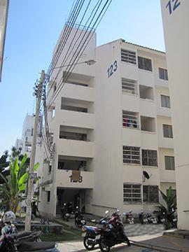 อาคารชุดบ้านเอื้ออาทร บางนา 6 ห้องชุดเลขที่ 337/5 ชั้นที่ 1 อาคารเลขที่ 123 ถนนบางนา-ตราด ซอยพูลเจริญ บางโฉลง บางพลี จังหวัดสมุทรปราการ