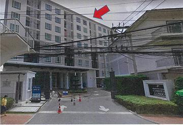 โครงการเดอะการ์เด้นคอนโด ห้องเลขที่ 42/62 ชั้น3 อาคารเลขที่ เอ มะขามเตี้ย เมืองสุราษฎร์ธานี จังหวัดสุราษฎร์ธานี