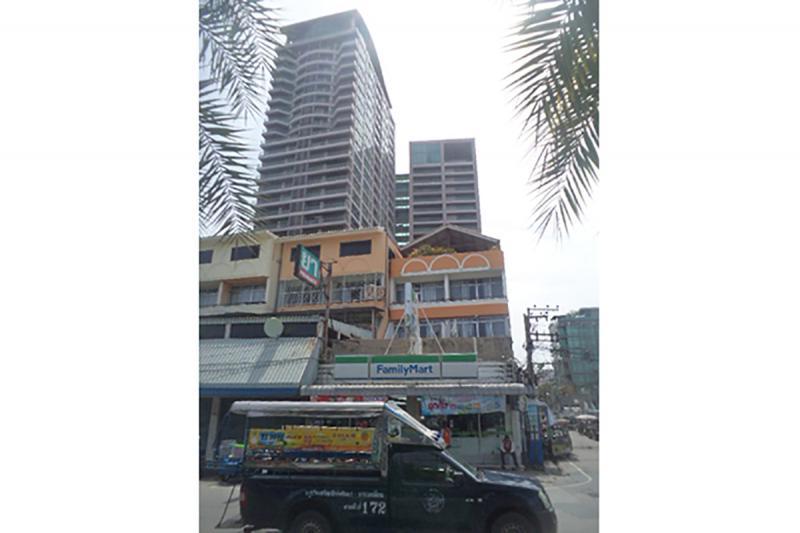 ห้องชุดเลขที่ 290/9 (ห้อง 709) ชั้น 7 (4M) อาคารชุดนอร์ทชอร์ ซอยพัทยา ซอย 5 ถนนเลียบชายหาดพัทยา หนองปรือ บางละมุง ชลบุรี